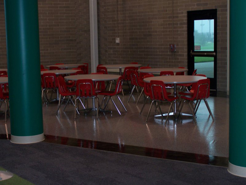 coated cafeteria floor 10 lg