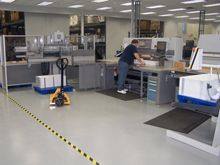 coated manufacturing floor 6