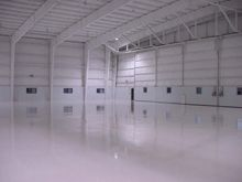 coated manufacturing floor 8